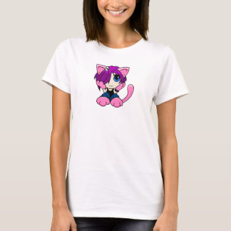 Emo Cat Girl T-Shirt
