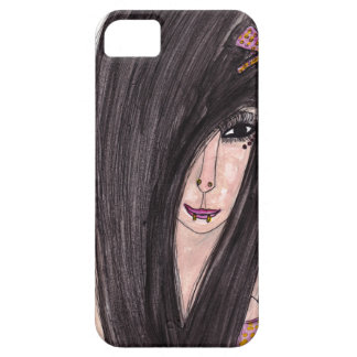Emo Girl Case For The iPhone 5