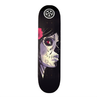 Emo Girl Skate Board Deck