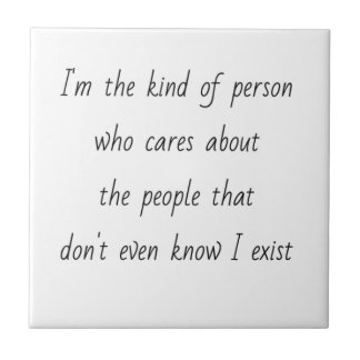 EMO I'M THE KIND OF PERSON WHO CARES ABOUT PEOPLE TILES