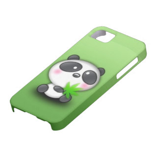 Emo Panda Bear iPhone 5 Case