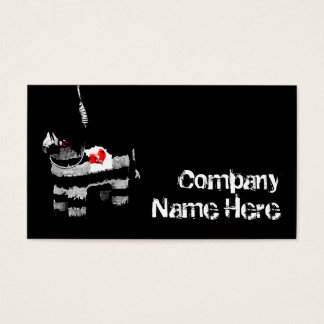 emo pinata business card