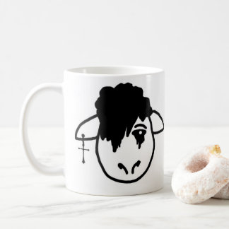 Emo Sheep Coffee Mug