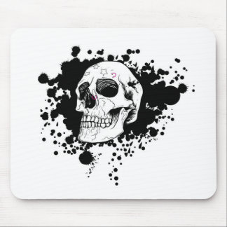 EMO Skull Mouse Pad