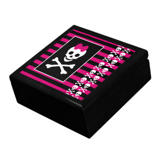 Emo Skull Princess Jewelery Box
