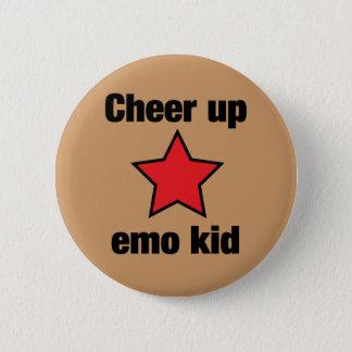 Emo Star 2 Inch Round Button