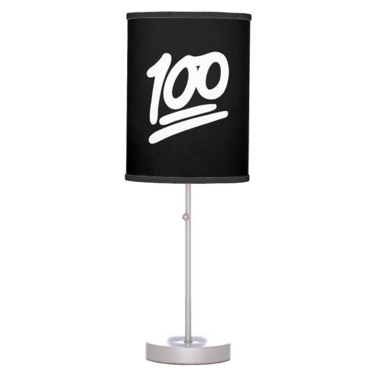 Emoji '100' Lamp