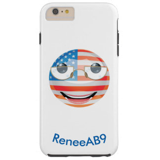 "Emoji ""American"" by ReneeAB9 Tough iPhone 6 Plus Case"