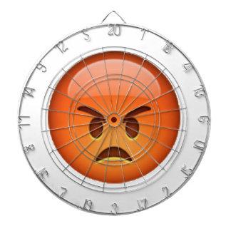 Emoji - Angry Dartboard