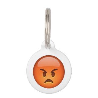 Emoji - Angry Pet ID Tag