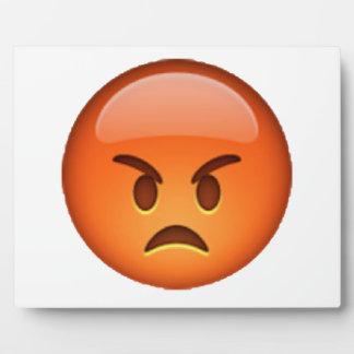 Emoji - Angry Plaque