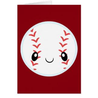 Emoji Baseball Card