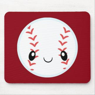 Emoji Baseball Mouse Pad