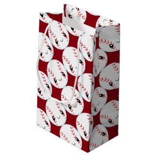 Emoji Baseball Small Gift Bag