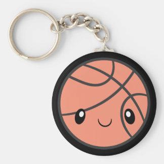 Emoji Basketball Keychain