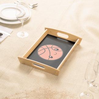 Emoji Basketball Serving Tray