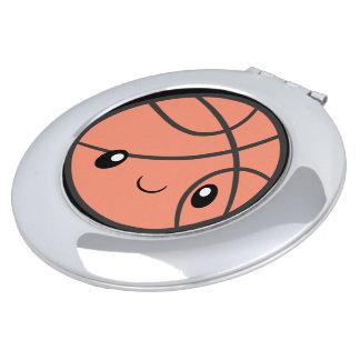 Emoji Basketball Vanity Mirror