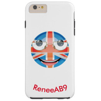 "Emoji ""Brit"" by ReneeAB9 Tough iPhone 6 Plus Case"