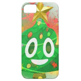 Emoji Christmas Tree Spray Paint iPhone 5 Covers