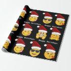 Emoji Christmas Wrapping Paper