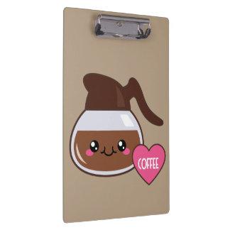 Emoji Coffee Pot Clipboard