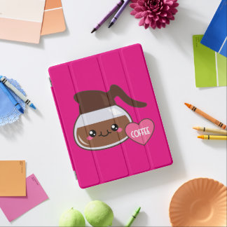 Emoji Coffee Pot iPad Cover