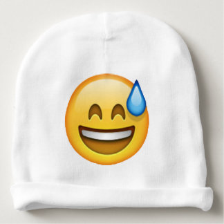 Emoji - Cold Sweat Baby Beanie