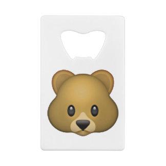 Emoji - Cold Sweat Credit Card Bottle Opener