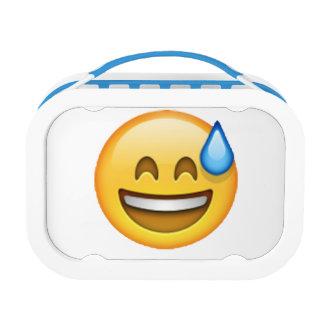 Emoji - Cold Sweat Lunch Box