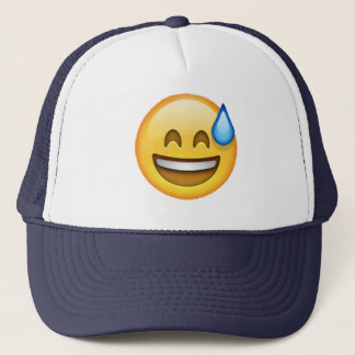 Emoji - Cold Sweat Trucker Hat