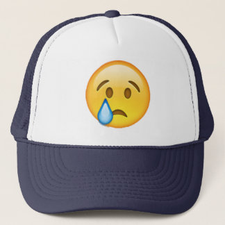 Emoji - Crying Trucker Hat