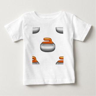 Emoji Curling Stone Baby T-Shirt