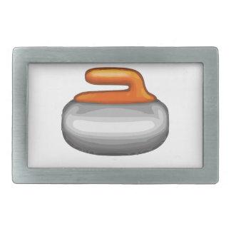 Emoji Curling Stone Belt Buckle