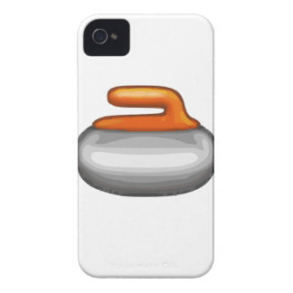 Emoji Curling Stone iPhone 4 Case-Mate Case