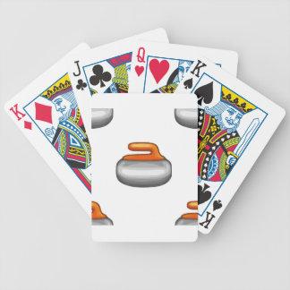 Emoji Curling Stone Poker Deck