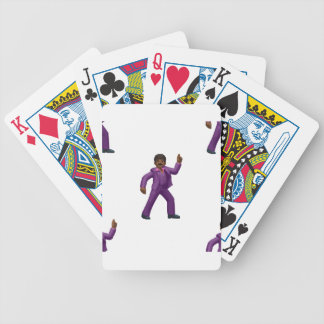 Emoji Dancing Man Bicycle Playing Cards