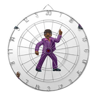 Emoji Dancing Man Dart Board