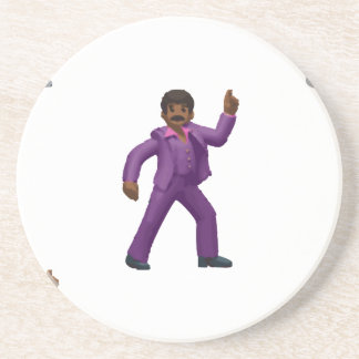 Emoji Dancing Man Drink Coaster