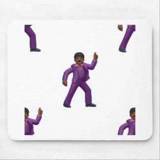 Emoji Dancing Man Mouse Pad
