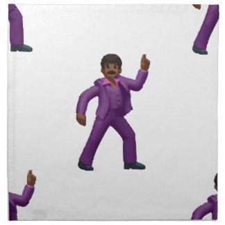 Emoji Dancing Man Napkin