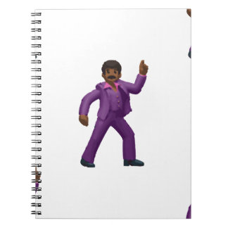 Emoji Dancing Man Notebook