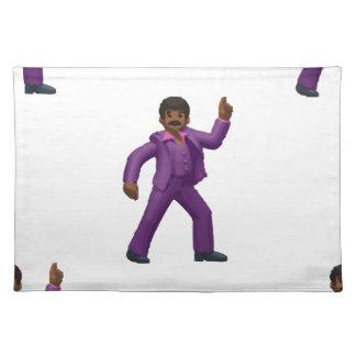 Emoji Dancing Man Placemat