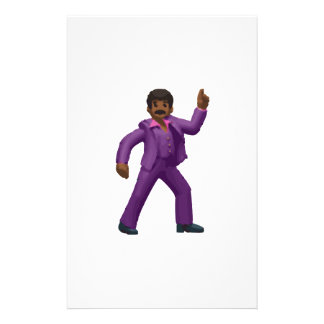 Emoji Dancing Man Stationery