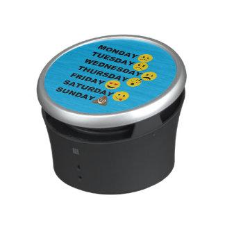 Emoji Days Bluetooth Speaker