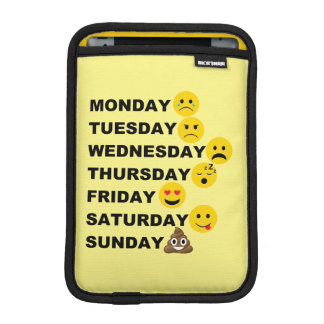 Emoji Days iPad Mini Sleeve