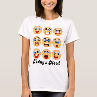 emoji,emoticon, today's mood,mood swing? T-Shirt
