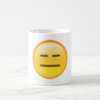 Emoji - Expressionless Coffee Mug