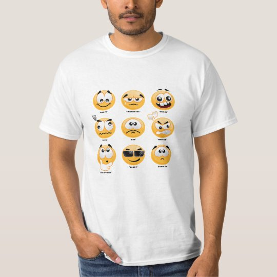 """Emoji Family - Light"" T-Shirt"