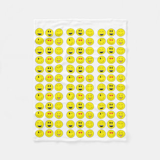 Emoji Fleece Blanket