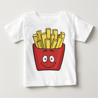 Emoji French Fries Baby T-Shirt